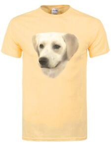 T-shirt Golden Labrador Men's Haze Yellow