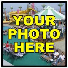 personalizzato con la tua foto souvenir gadget quadrato CALAMITA FRIGO / REGALI/