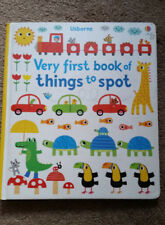 Very First Book of Things to Spot by Fiona Watt Usborne Hardcover Book