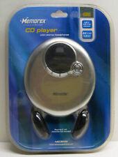 Memorex Personal/Portable Cd Player & Headphones Model Md3849 New/Sealed