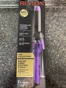 "Revlon RVIR1143 Salon Long Lasting Loose Curls Curling Iron, 1-1/4"""
