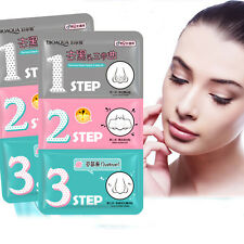 1Pc Pig Nose Pore Clear Black Head Remover Mask 3STEP Kit Face Beauty Cosmetic