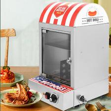 Electric 1500W Commercial  Hot Dog Steamer Machine 30-110℃ Sausage Warmer 110V