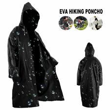 Outerwear Poncho EVA Rain Coat Waterproof Raincoat Hooded Jacket Cover NEW