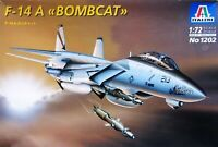 "GRUMMAN F-14A TOMCAT ""BOMBCAT"" 1/72 ITALERI"