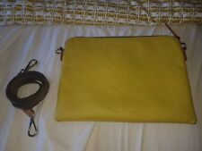 Orla Kiely Leather Travel Pouch Bag
