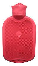 Grande Agua Caliente Botella por Sanger, red 3 pinta, Fuerte Goma Doble Estriado