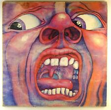 "12"" LP - King Crimson - In The Court Of The Crimson King - D402"