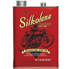 4L / 4 Litres 20W50 Silkolene Silkolube Classic/Historic/Vintage Engine Oil