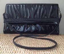 Vintage Black PVC Handbag in Excellent Condition Very Stylish