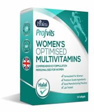 Profvits Women Advanced Vitamin Mineral Supplement (30) Capsules Halal