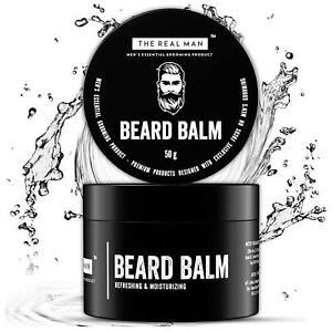Beard Balm | Growth, Softening & Moisturizing Beard | 50ml |100% Natural | Balm
