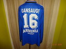 Arminia bielefeld Reusch manga larga Camiseta matchworn 1999/00 + nº 16 gansauge talla XL