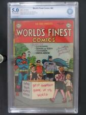 World's Finest Comics #69 - CBCS 5.0 VG/FN - DC 1954 -Batman- 3rd HIGHEST GRADE!