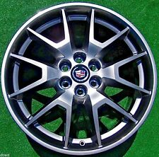 4 NEW 2016 Genuine GM OEM Factory HyperSilver Cadillac SRX 20 inch WHEELS XT5