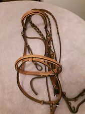 Crosby full size bridle with flash attachment