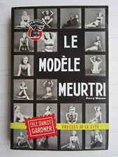 UN MYSTERE  N° 502 1959  Erle Stanley GARDNER / Perry Mason :le modèle meurtri