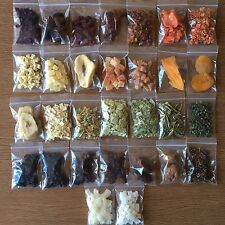 Parrot Food - Fruit & Veg Samples - Taster Pack - Macaw - African Grey - Conure