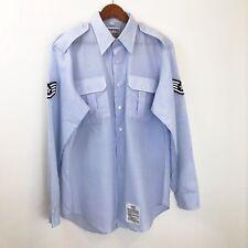 Propper Lightweight Tactical Mens Shirt Long Sleeve Button Down Size 17 - 35
