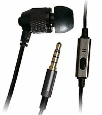 "Far End Gear Short Buds 22"" Cord Single In-Ear Stereo-to-Mono Earbud + Mic for a"