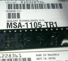 1 Stück MSA-1105 MMIC Amplifier 50MHz-1.3GHz 12dB 550mW Agilent (M1480)