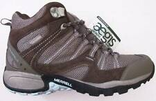 Merrell Womens Tuskora Mid Waterproof Olive Hiking Trail Shoes (8) NWT