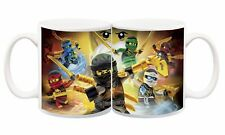 Lego Ninjago Kai Jay Lloyd Personalised Customised name mug cup Gift kids (10)