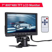 "7"" Color TFT LCD HD Monitor 800*480 300cd/m2 for Car DVD Rear View Camera DVR"