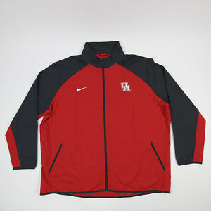 Houston Cougars Nike Dri-Fit Jacket Men's Red/Dark Gray New with Tags