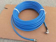 100FT Belden 1695A RG-6 Plenum BNC Male R/A Low Loss Serial Digital Coax Cable.