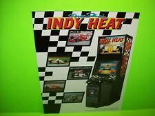 INDY HEAT Danny Sullivan's Video Arcade Game FLYER Original Auto Race Sullivan