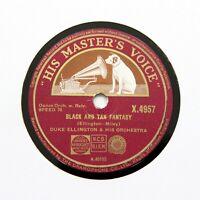 """DUKE ELLINGTON & HIS ORCHESTRA """"Black And Tan Fantasy"""" (E+) HMV X-4957 [78 RPM]"""
