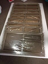 LOT OF 10 - 16 X 8 RETURN AIR GRILLE
