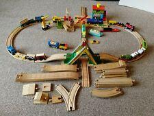 Brio and compatible railway track, trains, boats, vehicles. Batt operated bridge