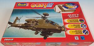 Revell 06618 AH-64 D Apache ohne bemalen und kleben Maßstab 1:100