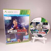 Pro Evolution Soccer PES 2018 (Microsoft Xbox 360) PAL