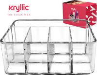 Drawer Organizer Makeup Bathroom Storage 5 section tray Acrylic holder Kryllic