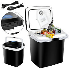 5.7Gal Car Iceless Thermoelectric Cooler&Warmer Travel Fridge For BBQ Camping12V
