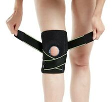 KNEE BRACE WITH SIDE STABILIZERS AND PATELLA GEL PADS, New Open Bag , One Size