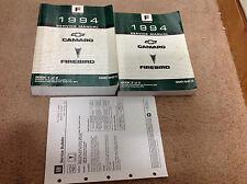 1994 Gm Chevy Camaro Pontiac Firebird Service Shop Repair Manual Set W Bulletin