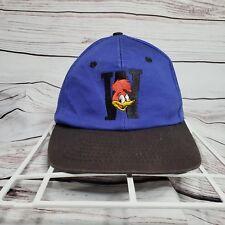 Vintage Woody Woodpecker Universal Studios Blockhead Snapback Hat Walter Lantz
