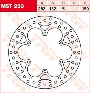 Bremsscheibe TRW Lucas MST233, Bremsscheibe starr mit ABE