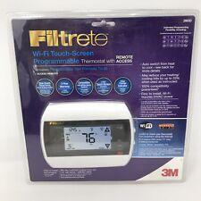 3M Filtrete Wi-Fi Touchscreen Programmable Thermostat Remote Access