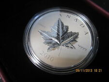 2010 Canada $5 Piedford Silver maple leaf coin proof 1oz .9999 pure silver