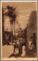 ARABIEN Araber Village Arabe Vintage Poscard alte Ansichtskarte AK ~1910/20