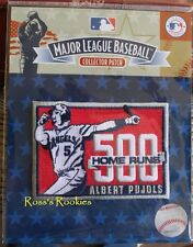 ALBERT PUJOLS 500 HOME RUNS OFFICIAL COMMEMORATIVE MLB PATCH 100% AUTHENTIC