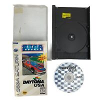 Daytona USA Sega Saturn Complete CIB Manual Tested Sega Sports