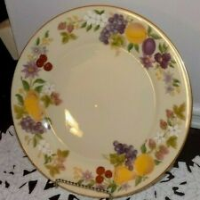 Lenox Fruit Border 10.5 in Plate Made in Usa