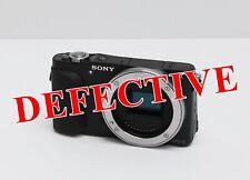 Sony Alpha NEX-3N 16.1MP Digital Camera Black (Body Only) FOR PARTS