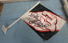 Dale Earnhardt Sr #3 Double Sided Car Window Flag *BW-A5